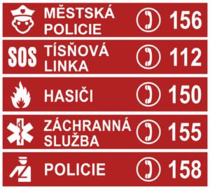 Krizová telefonní čísla